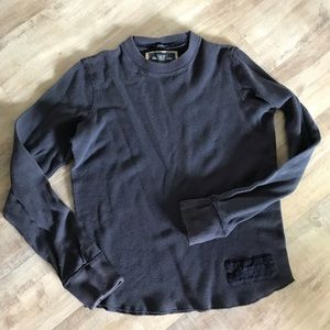 Abercrombie & Fitch waffle top